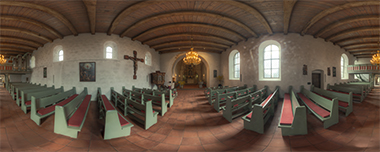 20130407 pano eck kirche borby mitte fotodesign
